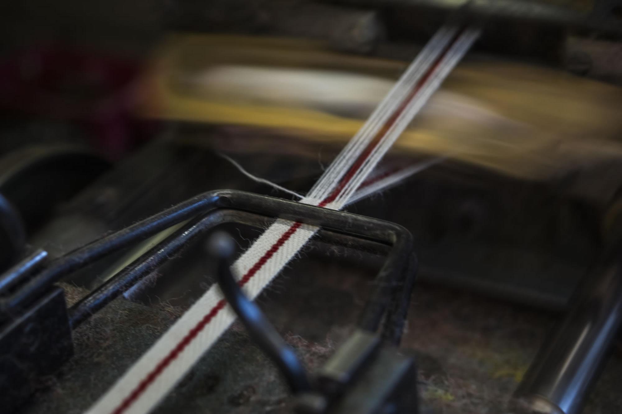 Regimental Tape Weaving