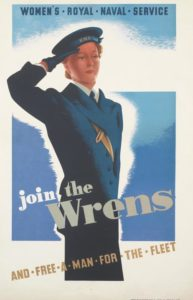 Enlisting Poster WRENS